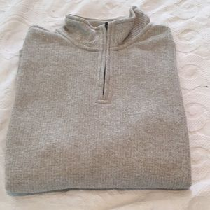 Knit zip up Pullover size M